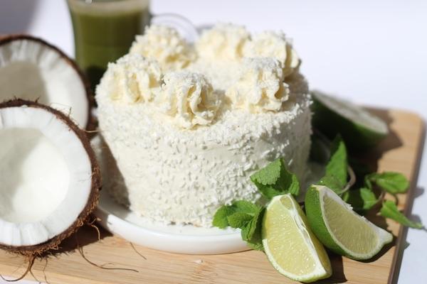 Кето-торт кокос-лайм