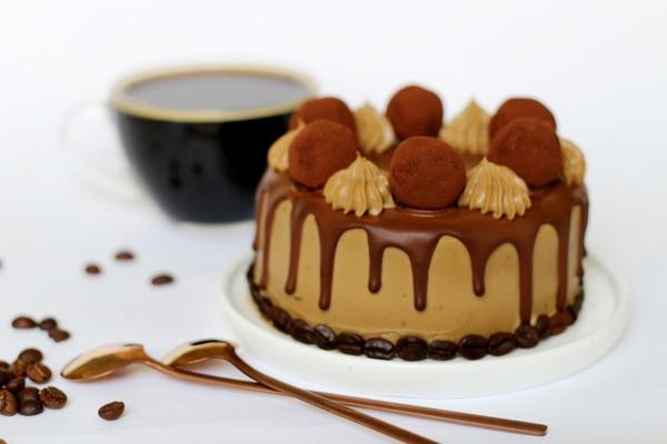 Кето-торт Мокко