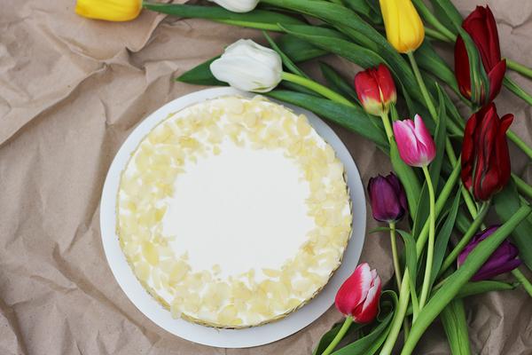 Миндальный кето-торт