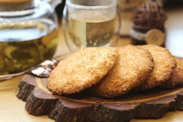 Кокосовое безглютеновое кето-печенье