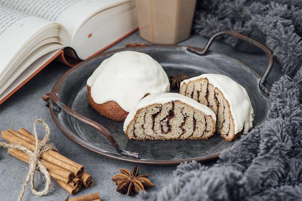 Cinnamon keto-rolls