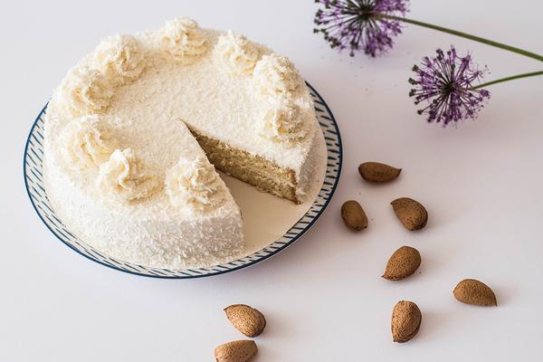 Кето торт из кокосовой муки